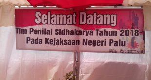 DARI WILAYAH TIMUR INDONESIA,KEJARI PALU MASUK NOMINASI PENILAIAN SIDHAKARYA