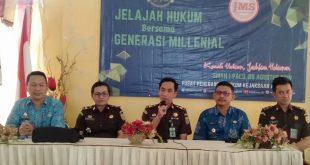Bidik Generasi Milenial, Kejagung Gelar JMS di Palu