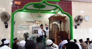Anwar Hafid Khotib Shalat  Idul Adha di Kabupaten Sigi Biromaru