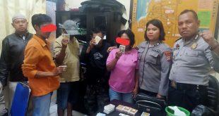 Oknum TNI dan Pegawai Lapas Petobo ditangkap Saat Berjudi