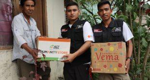 ACT Salurkan Ratusan Paket Bantuan Bagi Penyintas Banjir Bolapapu