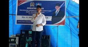 """Jaring """"Asmara """" Anwar Hafid Reses  di  Kabupaten Parigi Moutong"""