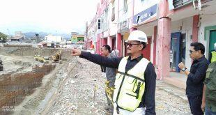 Pembangunan New Mall Tatura ditarget Selesai November 2021