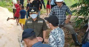 Responsif Wakil Bupati Tolitoli Gerilya Ditiga Lokasi Banjir