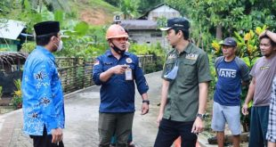 Wabup Tolitoli Tegaskan Pendangkalan Drainase Akan Ditangani Secara Gotong Royong