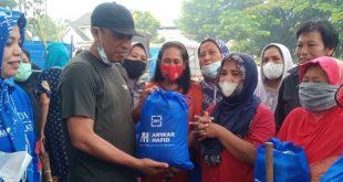 Demokrat Bagi Sembako,Anwar Hafid Sampaikan Pesan AHY